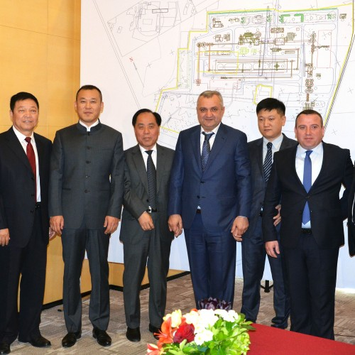 Signing Ceremony Of The Tripartite Agreement On Construction Of